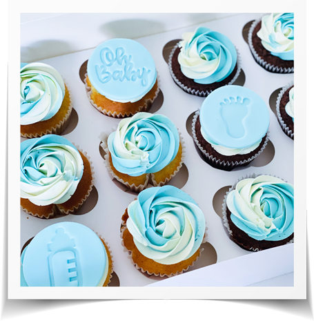 Baby Shower CupCake Gateau Oh Baby